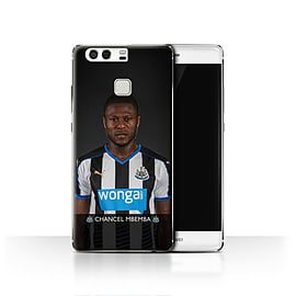 Official Newcastle United FC Case/Cover for Huawei P9/Mbemba Design/NUFC Football Player 15/16 Mobile phones