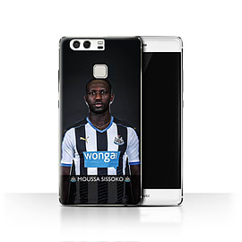 Official Newcastle United FC Case/Cover for Huawei P9/Sissoko Design/NUFC Football Player 15/16 Mobile phones