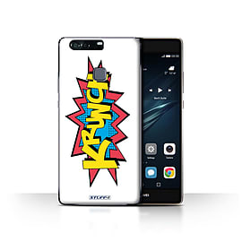 STUFF4 Case/Cover for Huawei P9 Plus / Krunch Design / Comics/Cartoon Words Collection Mobile phones