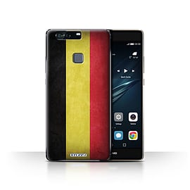 STUFF4 Case/Cover for Huawei P9 Plus / Belgium Design / Flags Collection Mobile phones