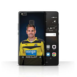 Official Newcastle United FC Case/Cover for Huawei P9 Lite/Elliot Design/NUFC Football Player 15/16 Mobile phones