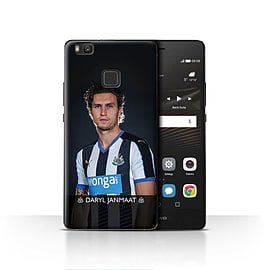 Official Newcastle United FC Case/Cover for Huawei P9 Lite/Janmaat Design/NUFC Football Player 15/16 Mobile phones