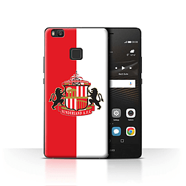 Official Sunderland AFC Case/Cover for Huawei P9 Lite/Red/White Design/SAFC Football Club Crest Mobile phones