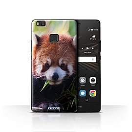 STUFF4 Case/Cover for Huawei P9 Lite / Racoon Design / Wildlife Animals Collection Mobile phones