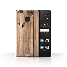 STUFF4 Case/Cover for Huawei P9 Lite / Plank Design / Wood Grain Effect/Pattern Collection Mobile phones