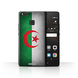 STUFF4 Case/Cover for Huawei P9 Lite / Algeria/Algerian Design / Flags Collection Mobile phones