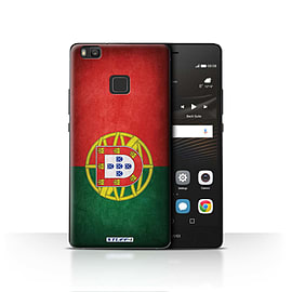 STUFF4 Case/Cover for Huawei P9 Lite / Portugal/Portuguese Design / Flags Collection Mobile phones