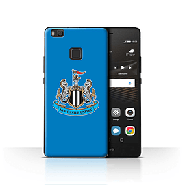 Official Newcastle United FC Case/Cover for Huawei P9 Lite/Colour/Blue Design/NUFC Football Crest Mobile phones