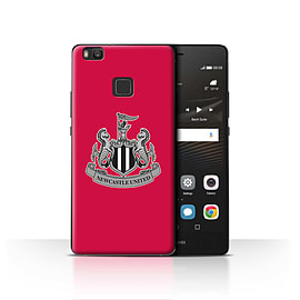 Official Newcastle United FC Case/Cover for Huawei P9 Lite/Mono/Red Design/NUFC Football Crest Mobile phones