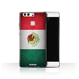 STUFF4 Case/Cover for Huawei P9 / Mexico/Mexican Design / Flags Collection Mobile phones