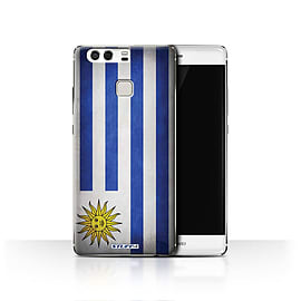 STUFF4 Case/Cover for Huawei P9 / Uruguay/Uruguayan Design / Flags Collection Mobile phones