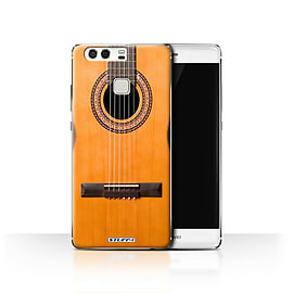 STUFF4 Case/Cover for Huawei P9 / Wood/Wooden Acoustic Design / Guitar Collection Mobile phones
