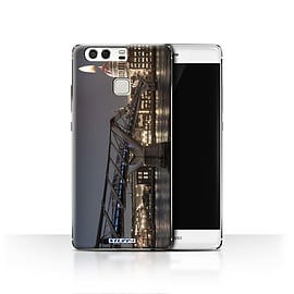 STUFF4 Case/Cover for Huawei P9 / London's Burning Design / Imagine It Collection Mobile phones