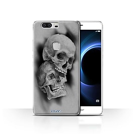 STUFF4 Case/Cover for Huawei Honor V8 / Mist/Fog Design / Skull Art Sketch Collection Mobile phones