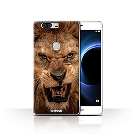 STUFF4 Case/Cover for Huawei Honor V8 / Lion Design / Wildlife Animals Collection Mobile phones