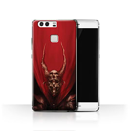Official Chris Cold Case/Cover for Huawei P9 / Red Duke Design / Dark Art Demon Collection Mobile phones
