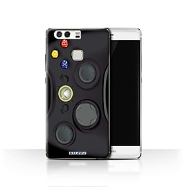 STUFF4 Case/Cover for Huawei P9 / Black Xbox 360 Design / Games Console Collection Mobile phones