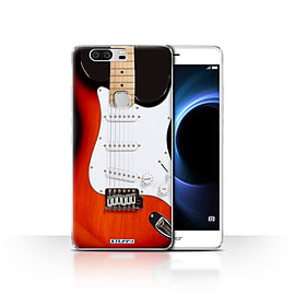 STUFF4 Case/Cover for Huawei Honor V8 / Red Electric Design / Guitar Collection Mobile phones