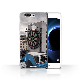 STUFF4 Case/Cover for Huawei Honor V8 / Bullseye Design / Imagine It Collection Mobile phones