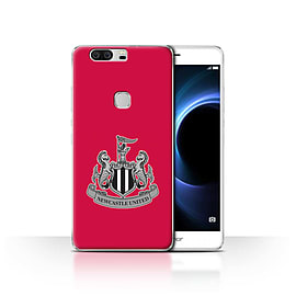Official Newcastle United FC Case/Cover for Huawei Honor V8/Mono/Red Design/NUFC Football Crest Mobile phones