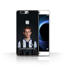 Newcastle United FC Case/Cover for Huawei Honor V8/Colback Design/NUFC Football Player 15/16 Mobile phones