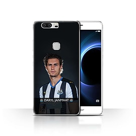 Newcastle United FC Case/Cover for Huawei Honor V8/Janmaat Design/NUFC Football Player 15/16 Mobile phones