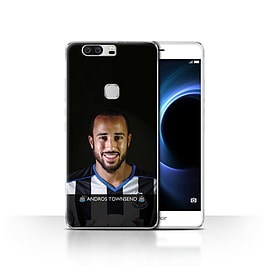 Newcastle United FC Case/Cover for Huawei Honor V8/Townsend Design/NUFC Football Player 15/16 Mobile phones