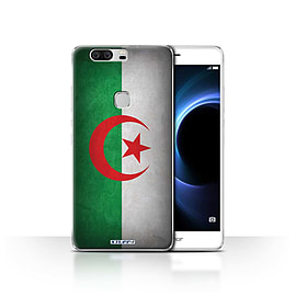 STUFF4 Case/Cover for Huawei Honor V8 / Algeria/Algerian Design / Flags Collection Mobile phones