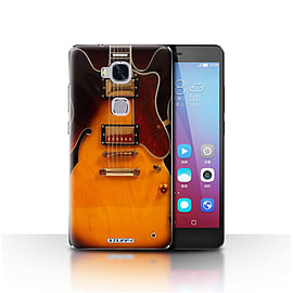 STUFF4 Case/Cover for Huawei Honor 5X/GR5 / Semi Acoustic Design / Guitar Collection Mobile phones