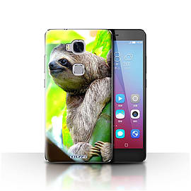 STUFF4 Case/Cover for Huawei Honor 5X/GR5 / Sloth Design / Wildlife Animals Collection Mobile phones