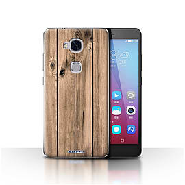 STUFF4 Case/Cover for Huawei Honor 5X/GR5 / Plank Design / Wood Grain Effect/Pattern Collection Mobile phones