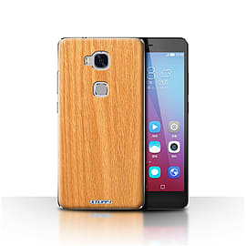 STUFF4 Case/Cover for Huawei Honor 5X/GR5 / Pine Design / Wood Grain Effect/Pattern Collection Mobile phones