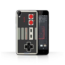 STUFF4 Case/Cover for HTC Desire 825 / Nintendo Classic Design / Games Console Collection Mobile phones