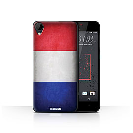 STUFF4 Case/Cover for HTC Desire 825 / France/French Design / Flags Collection Mobile phones