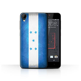 STUFF4 Case/Cover for HTC Desire 825 / Honduras/Honduran Design / Flags Collection Mobile phones
