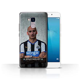 Newcastle United FC Case/Cover for Huawei Honor 5c/Shelvey Design/NUFC Football Player 15/16 Mobile phones