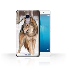 STUFF4 Case/Cover for Huawei Honor 5c / Wolf Design / Wildlife Animals Collection Mobile phones