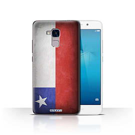 STUFF4 Case/Cover for Huawei Honor 5c / Chile/Chiliean Design / Flags Collection Mobile phones