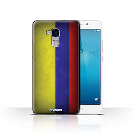STUFF4 Case/Cover for Huawei Honor 5c / Columbia/Columbian Design / Flags Collection Mobile phones