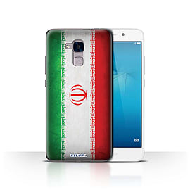 STUFF4 Case/Cover for Huawei Honor 5c / Iran/Iranian Design / Flags Collection Mobile phones