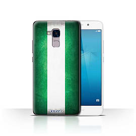 STUFF4 Case/Cover for Huawei Honor 5c / Nigeria/Nigerian Design / Flags Collection Mobile phones