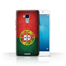STUFF4 Case/Cover for Huawei Honor 5c / Portugal/Portuguese Design / Flags Collection Mobile phones