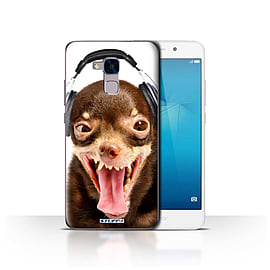 STUFF4 Case/Cover for Huawei Honor 5c / Ridiculous Dog Design / Funny Animals Collection Mobile phones