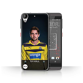 Official Newcastle United FC Case/Cover for HTC Desire 630/Krul Design/NUFC Football Player 15/16 Mobile phones