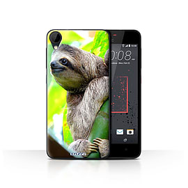 STUFF4 Case/Cover for HTC Desire 825 / Sloth Design / Wildlife Animals Collection Mobile phones
