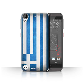 STUFF4 Case/Cover for HTC Desire 530 / Greece/Greek Design / Flags Collection Mobile phones