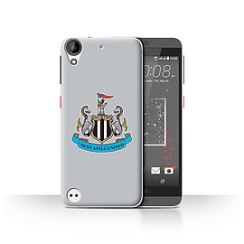 Official Newcastle United FC Case/Cover for HTC Desire 530/Colour/Grey Design/NUFC Football Crest Mobile phones