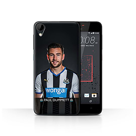 Official Newcastle United FC Case/Cover for HTC Desire 825/Dummett Design/NUFC Football Player 15/16 Mobile phones