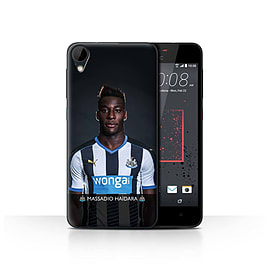 Official Newcastle United FC Case/Cover for HTC Desire 825/Ha?dara Design/NUFC Football Player 15/16 Mobile phones