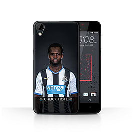 Official Newcastle United FC Case/Cover for HTC Desire 825/Tiot? Design/NUFC Football Player 15/16 Mobile phones